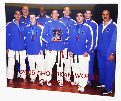 2005 National Shotokan World Champions